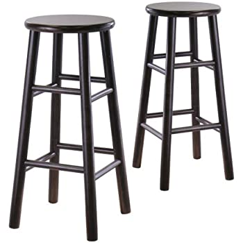 ip bar brown inch stools seat milano height linon com stool walmart