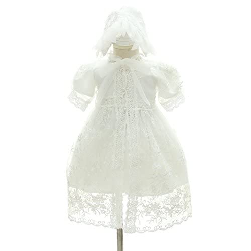 ddc9b17896dcc H.X Baby Girl's Formal Christening Baptism Gown 3 Piece Birthday ...