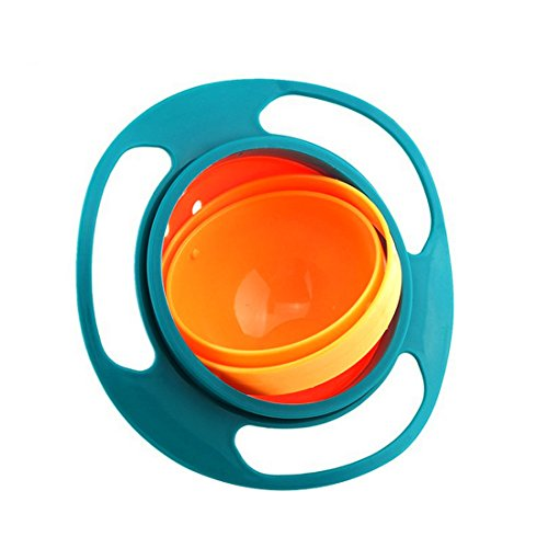 LiangTing Spill Resistant Gyro Bowl with Lid