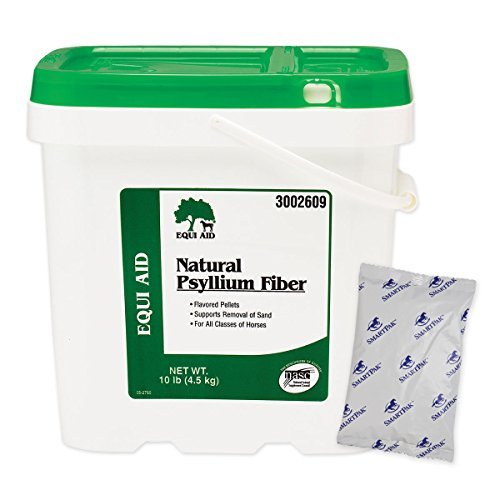 Equi Aid Natural Psyllium Fiber Pellets Digestive Aid for Horse, 20-Pound by Farnam by Farnam (Image #1)