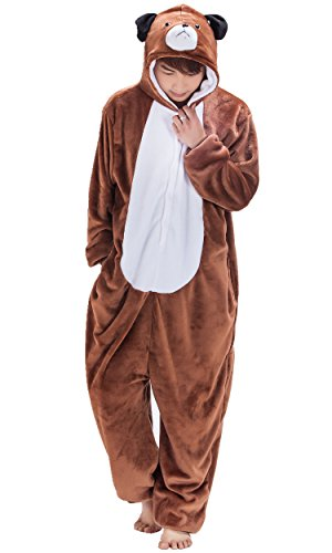 Unisex Adult Anime Halloween Cosplay Costume Kigurumi Pajamas Dog S