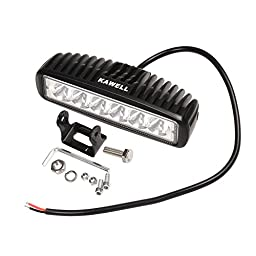 KAWELL Slim 18W LED Light Bar 6.2\