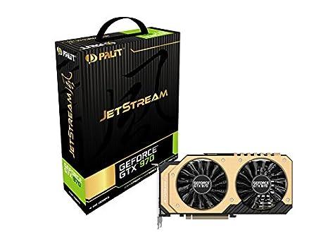 Palit GTX970 Jetstream - Tarjeta gráfica de 4 GB (HDMI, DP ...