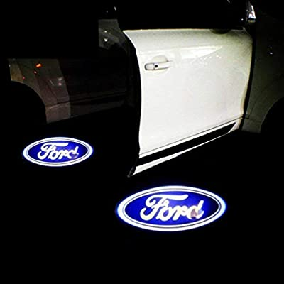 KVCH 2 Pieces Welcome Light LED Car Door Projector Logo Ghost Shadow Lamp