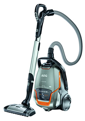 AEG Ultraone QUATTRO Bagged Cylinder Vacuum Cleaner 800 W - Tungsten Metallic