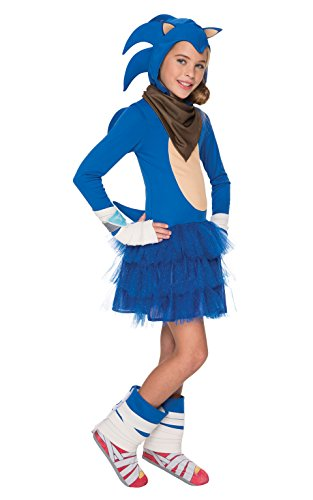 Make Sonic Hedgehog Costume (Rubie's Costume Sonic Boom Girl's Costume, Small)