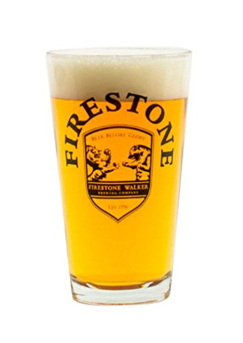 firestone-beer-pint-glass-16-ounce-bear-vs-lion-shield