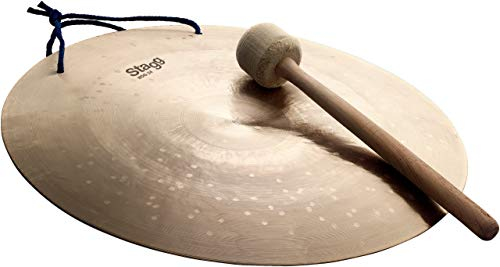 Stagg WDG-24 24-Inch Wind Gong with Mallet