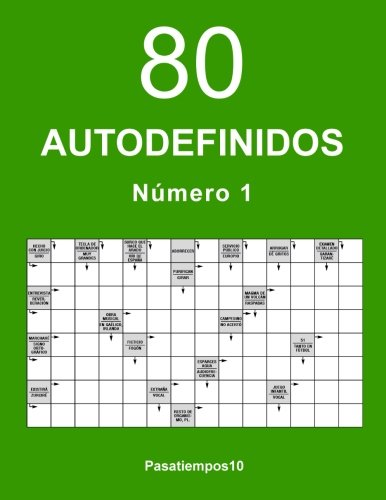 80 Autodefinidos - N. 1 (Volume 1) (Spanish Edition)