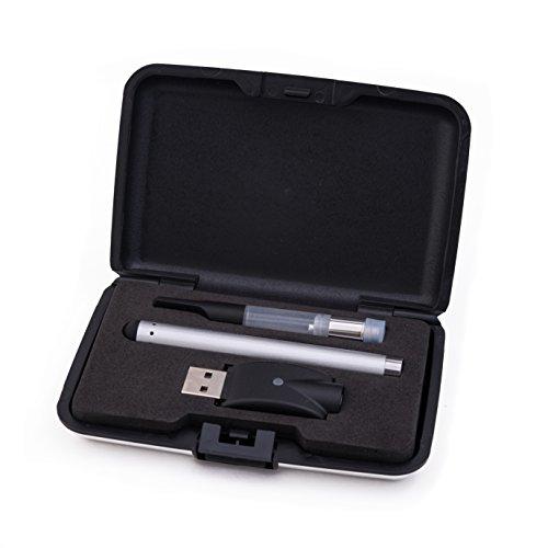 Starter Buttonless Vape Pen Kit - Silver - Best for CBD Oil