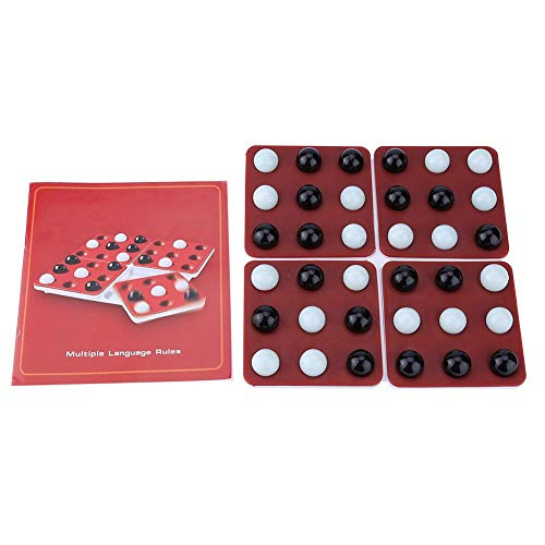 チェスボードゲーム 教育 5つのパズル おもちゃ セット クリエイティブ ローテートボード 子供 おもちゃ