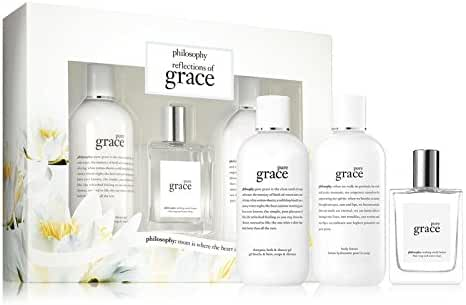 Philosophy Pure Grace Reflections of Grace 3 Piece Gift Set for Women