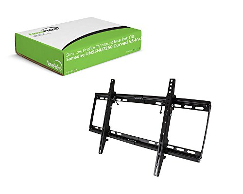 NavePoint Slim Low Profile TV Mount Bracket Tilt for Samsung UN55HU7250 Curved 55-Inch TV