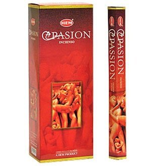 (Passion - 120 Sticks Box - HEM Incense)