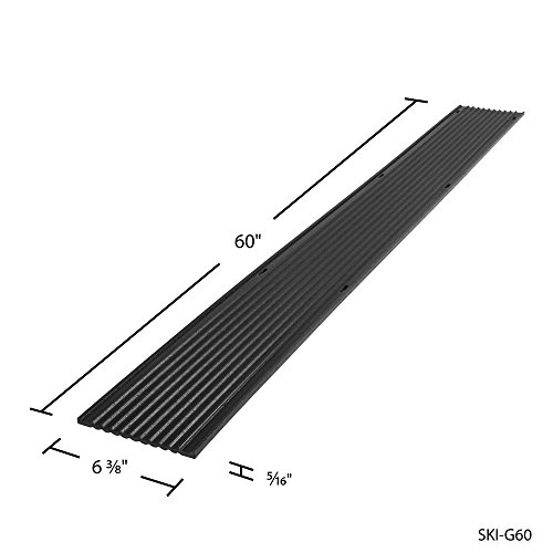 40ft. Snowmobile Ski Carbide Glide Protector Guides - (8) 5ft. Sections
