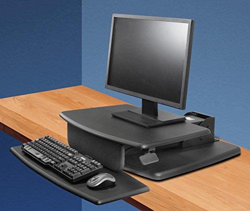 Kantek Desktop Sit to Stand Workstation, Black (STS810) by Kantek (Image #2)