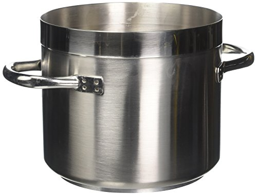 Paderno World Cuisine ''Grand Gourmet'' Stainless-steel 5-1/4-Quart Low Stockpot by Paderno World Cuisine