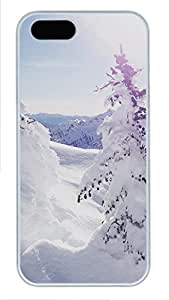 Case For HTC One M8 Cover landscapes nature snow 36 PC Custom Case For HTC One M8 Cover Cover White