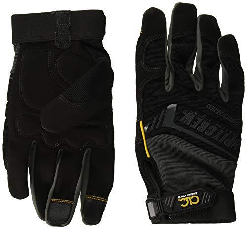 Custom Leathercraft CLC Pit Crew 205BXL Engine Crew Mechanic's Glove, Black, XL ()