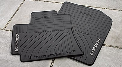 Genuine Toyota All Weather Floor Mats set of 4 for select Corolla's