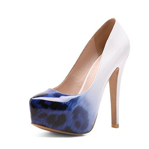 en sint Cuero de Mujer Zapatos wqW1aEPn