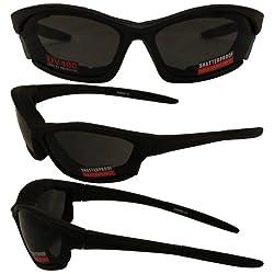 Boston Smoked motorcycle sunglasses