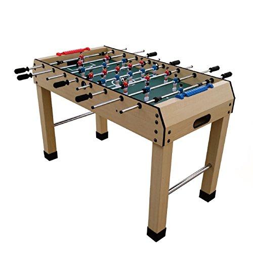Tischkicker Kicker Tischfußball Fußballspiel Spieltisch inkl Zubehör 121x61x79cm (4824G1)