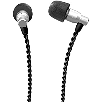 ADVANCED M4 In-Ear Earphones Headphones with Mic/Controller, Tangle-Free Cable, Natural and Balanced Sound