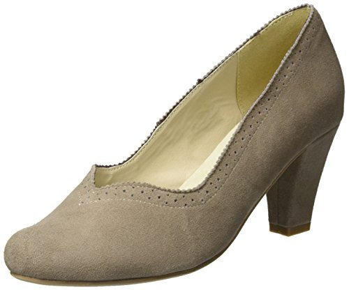 Andrea Conti 3001540 - Tacones Mujer Beige (Taupe)