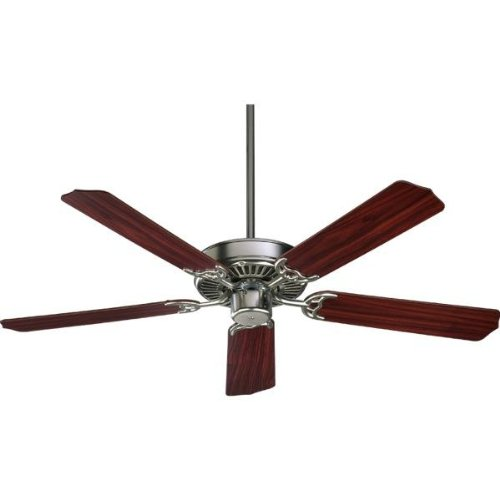 Quorum 77525-6522, Capri Satin Nickel Energy Star 52″ Ceiling Fan For Sale