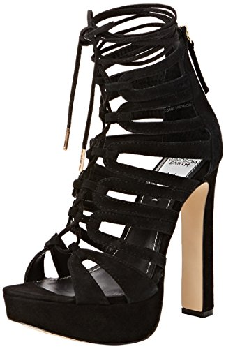 Nero Windsor in Meteor Sandalo Donna camoscio Smith Nero rwtqXATr