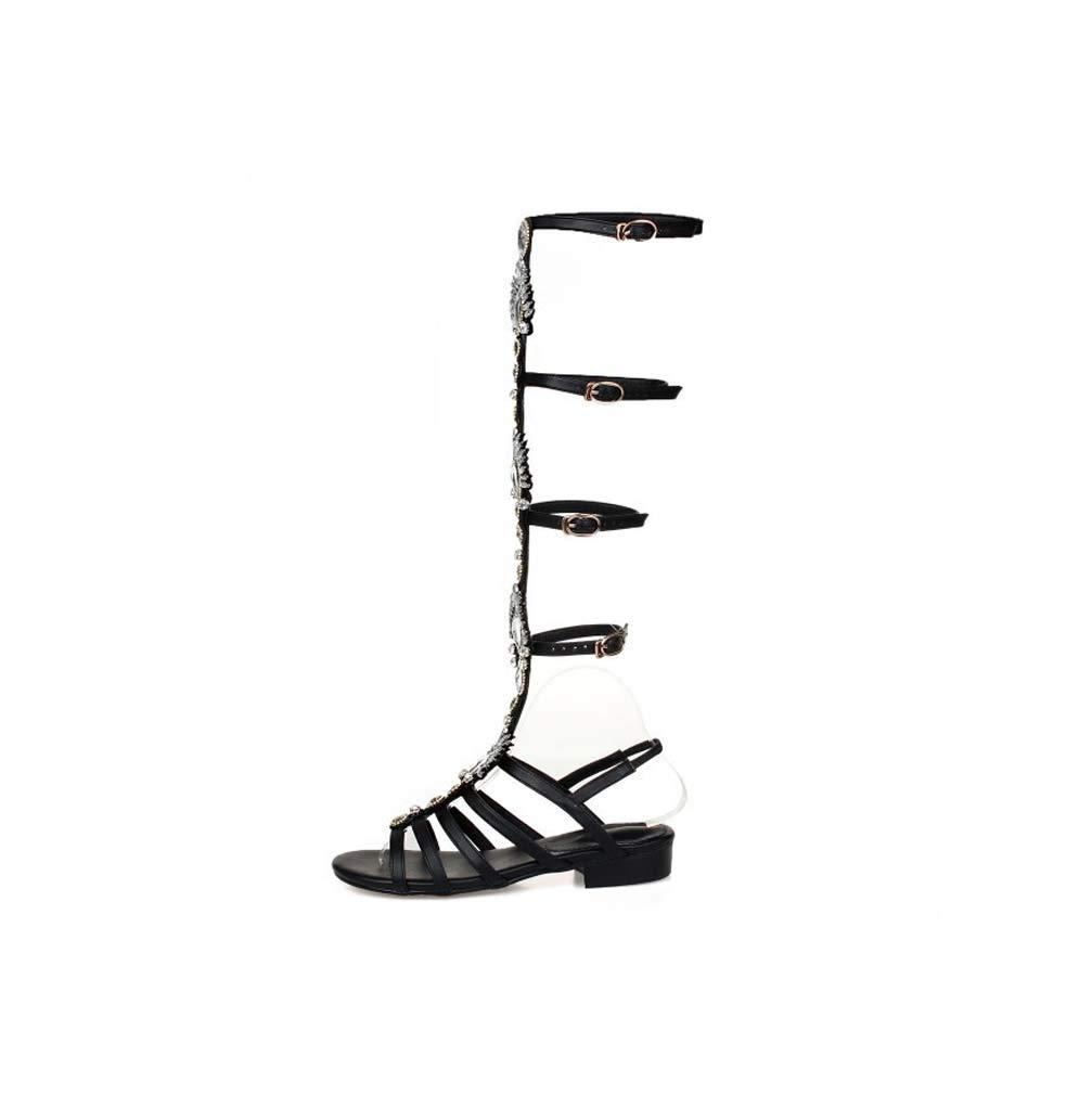 ZhengYue Sandalen Damen,Schuhe Hohe Stiefel Shoes Schuh