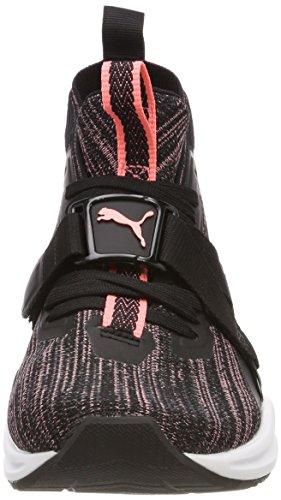 Wn's Negro Puma Puma Mujer soft Zapatillas Black para Cross 2 Evoknit Fluo asphalt Ignite Peach de wwqart1z