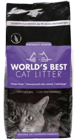 World's Best Cat Litter - Cat Litter Lavender - 7 lbs.
