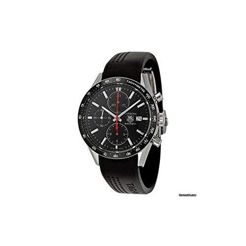 TAG Heuer Carrera - Reloj (Reloj de Pulsera, Masculino, Acero Inoxidable, Negro