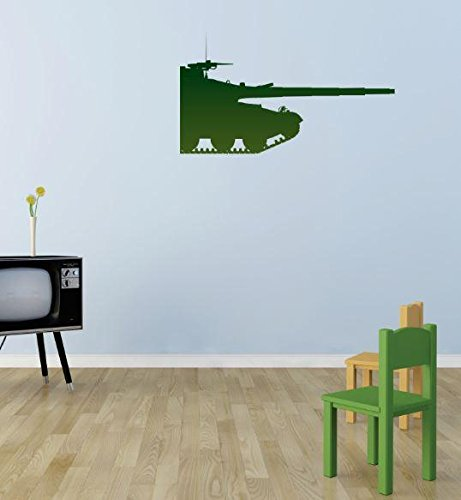 Design With Vinyl 3 Pro 31 Decor Item Green Military Tank...