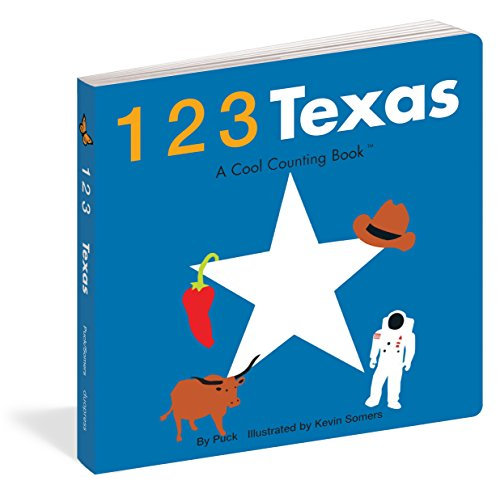 123 Texas (Cool Counting Books) (Fun Places For Kids In Dallas Tx)