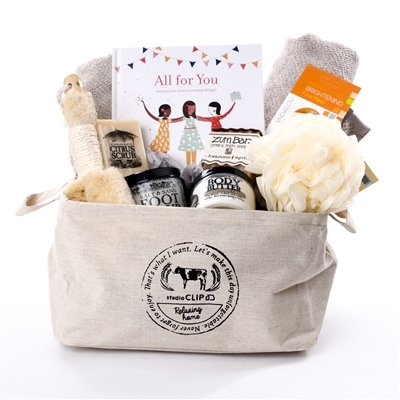 Spa Gift Basket - Eco-friendly Radiance