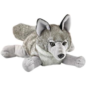 Wildlife Artists Wolf Stuffed Animal Lying Plush Toy