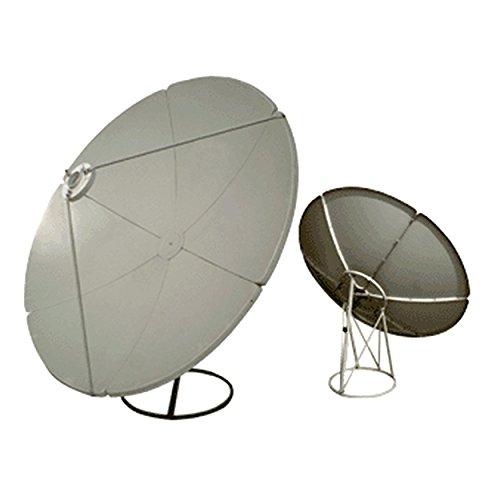 Homevision Technology Satellite Dish Digiwave 2.1 Meter Prime Focus Satellite Dish, Gray (DWD210T)