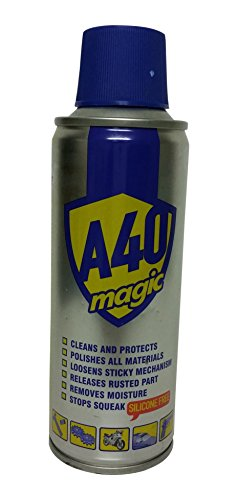 how to use wd40 to remove rust
