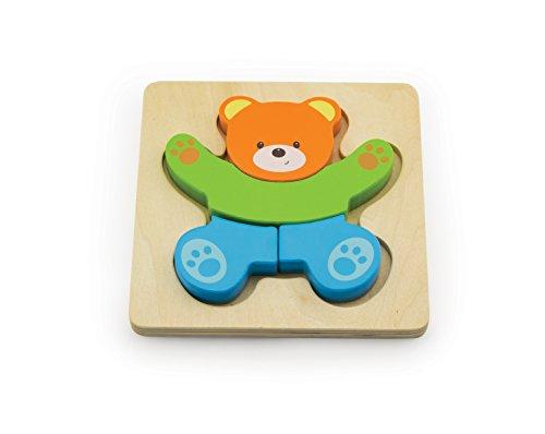 Windsor 4 Pieces Simple Block Puzzle Bear