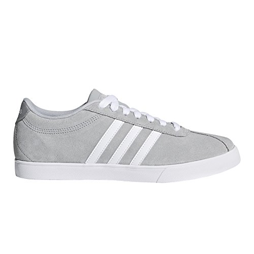 Courtset Clear Adidas Onix Baskets silver white Met Daim Sq1xABw1F