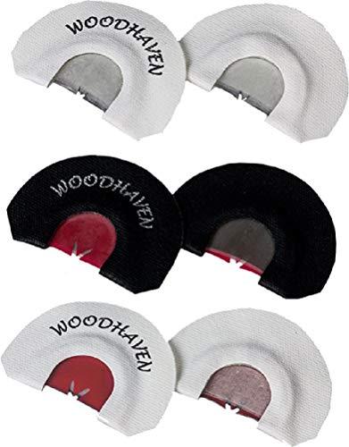 Woodhaven Custom Calls Wasp Nest Diaphragm Turkey Call - 3 Pack