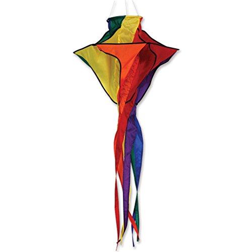 Premier Kites 99711 Rainbow Star Twister Wind Spinner, 42-Inch