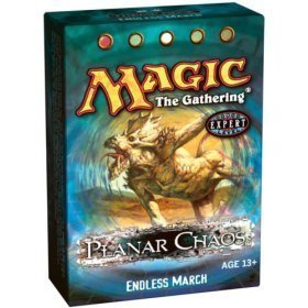 Magic The Gathering MTG Planar Chaos Endless March Theme Deck