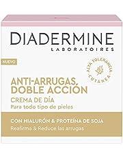 Diadermine, Crema Antiarrugas Doble Accion Dia Lote 2 X 50 Ml , Uppsättning, Mångfärgad, U, Kvinna