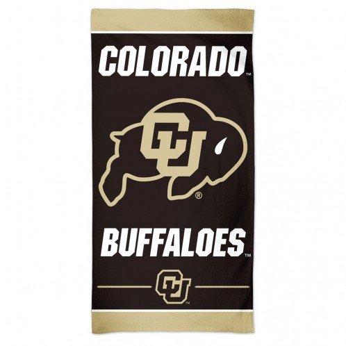 WinCraft Colorado Buffaloes Beach Towel - Black