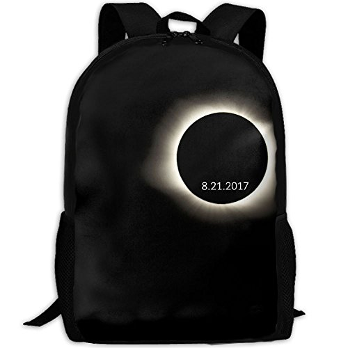 Total Solar Eclipse Unique Outdoor Shoulders Bag Fabric Backpack Multipurpose Daypacks For - Sunglasses Eclipse For The Work Will