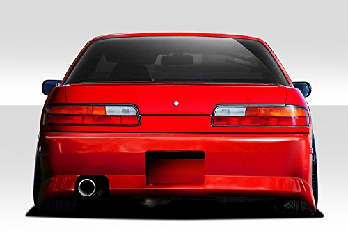 Duraflex Replacement for 1989-1994 Nissan 240SX S13 2DR B-Sport 2 Rear Bumper Cover - 1 ()